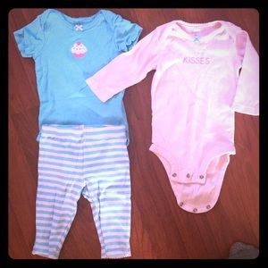 3pc Carter's outfit